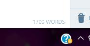 1700 words!!